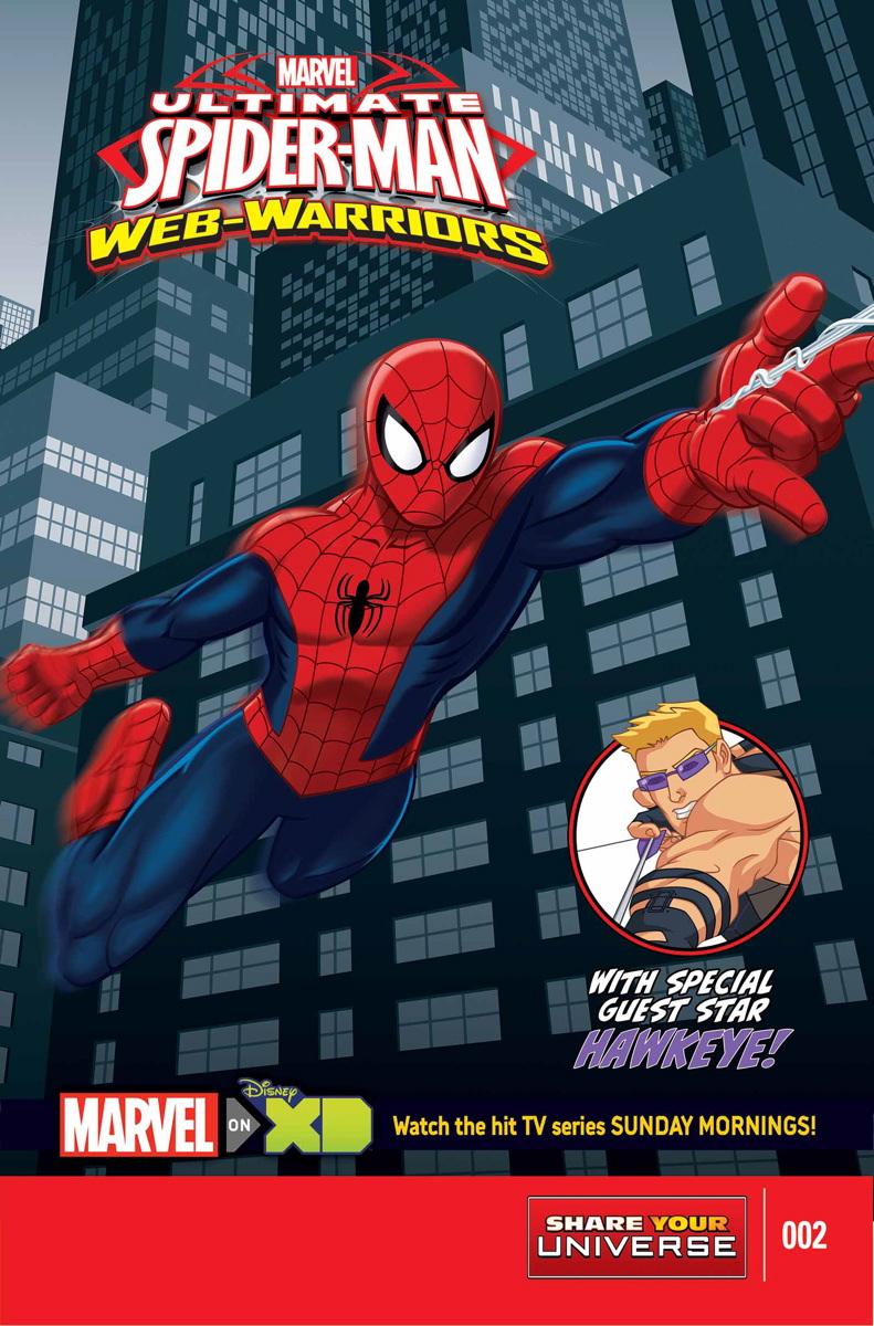 Marvel Universe Ultimate Spider-Man: Web Warriors Vol 1 2
