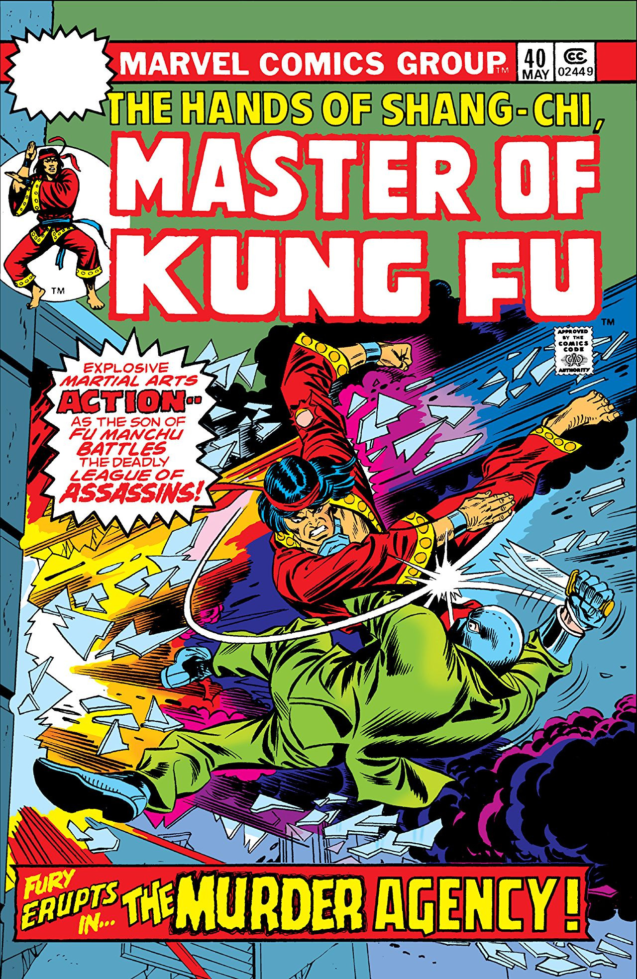 Master of Kung Fu Vol 1 40