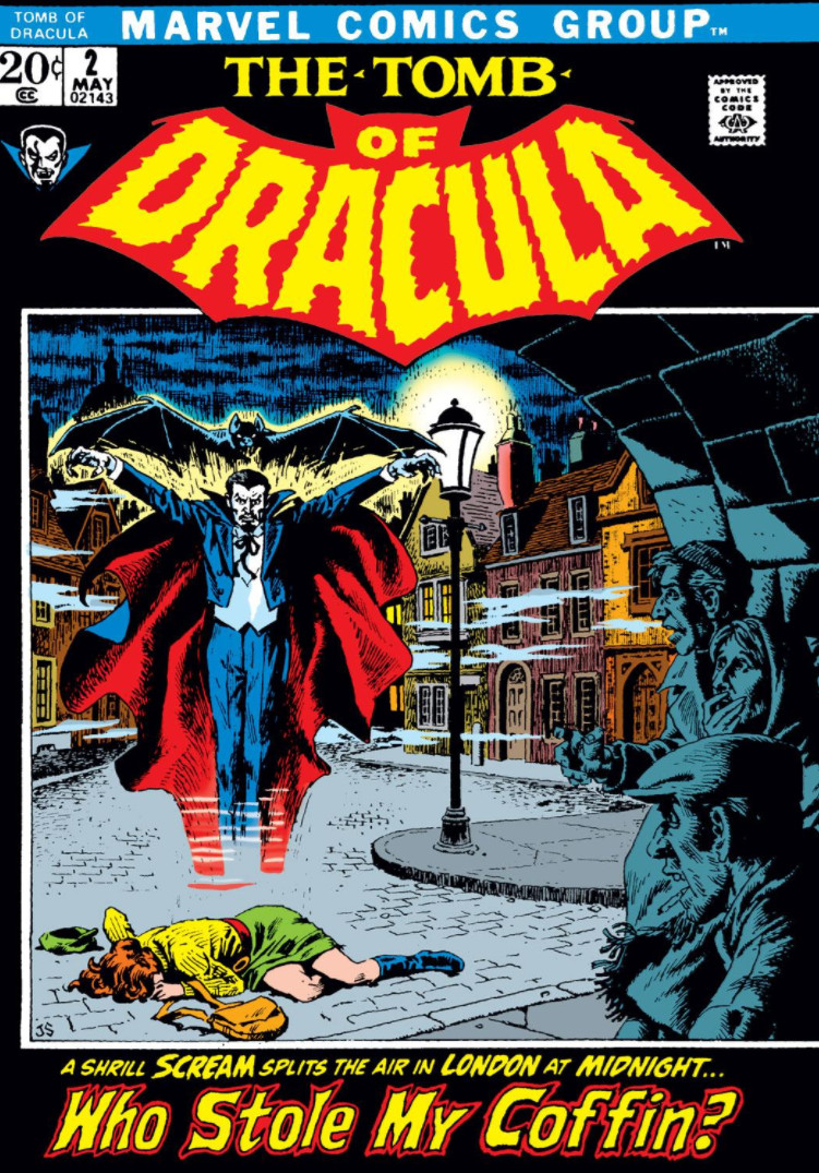 Tomb of Dracula Vol 1 2