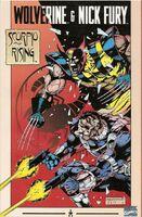 Wolverine & Nick Fury Scorpio Rising Vol 1 1