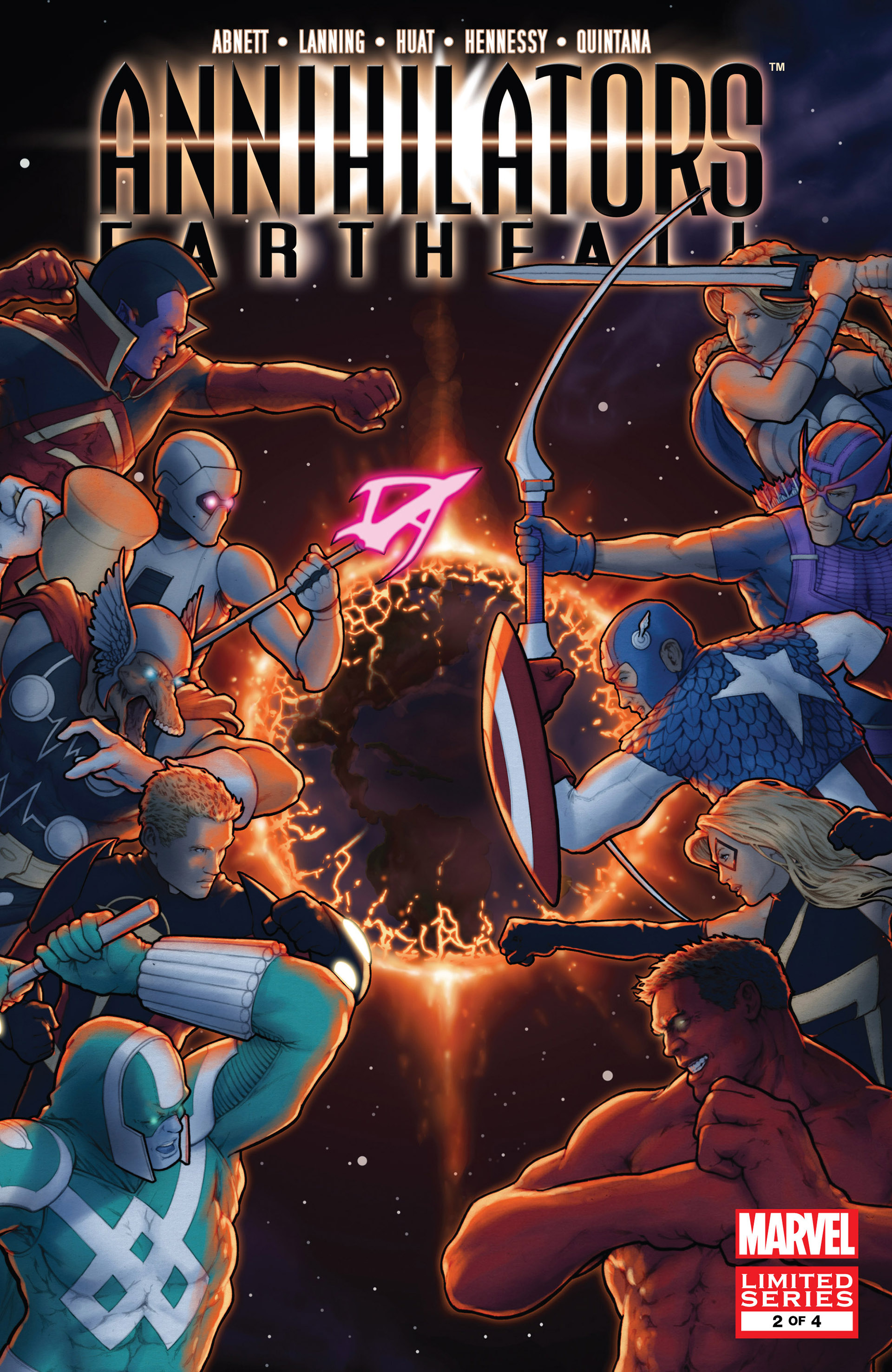 Annihilators: Earthfall Vol 1 2