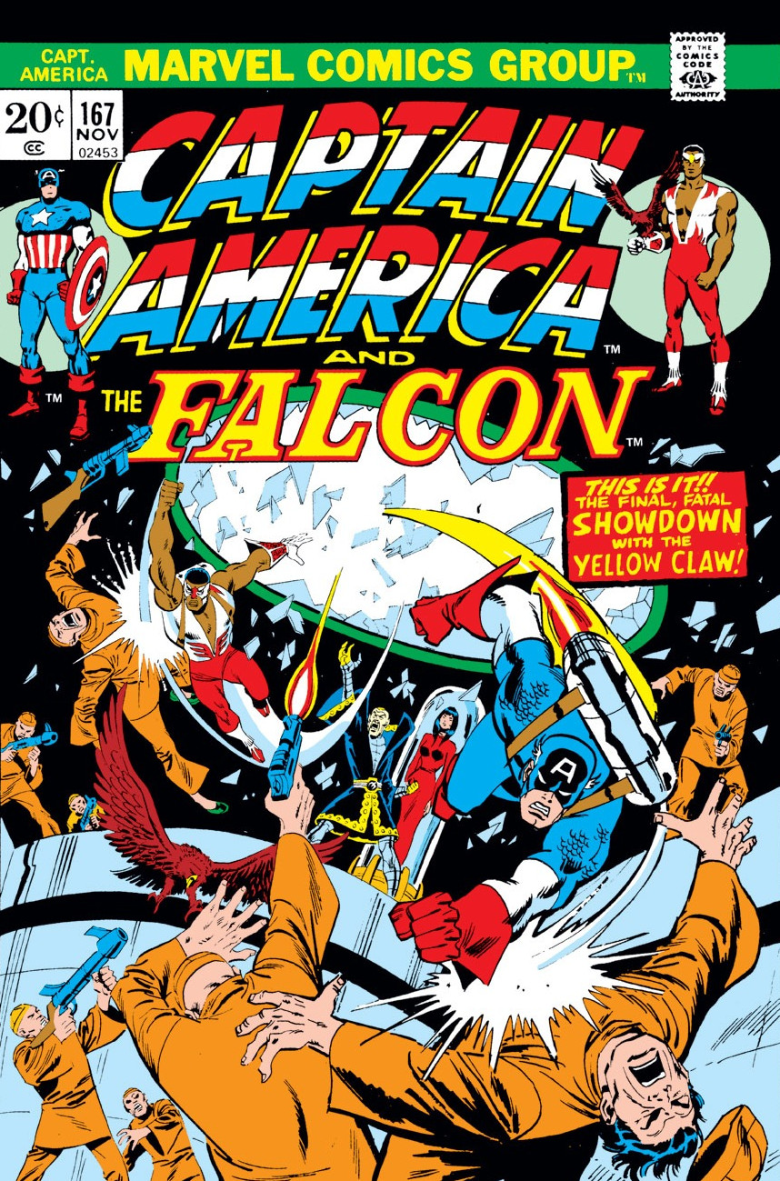 Captain America Vol 1 167