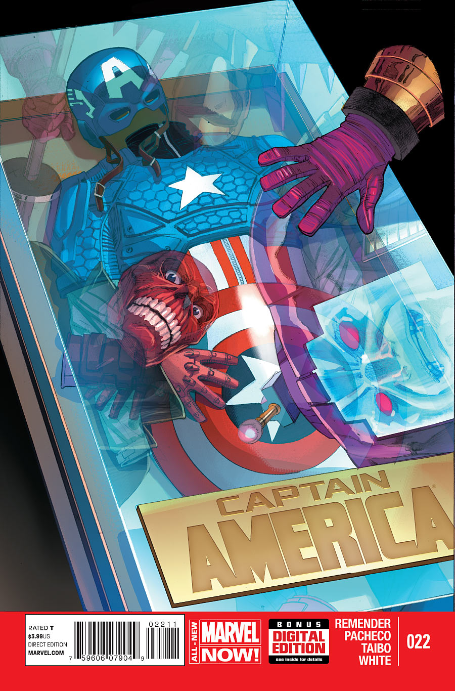 Captain America Vol 7 22