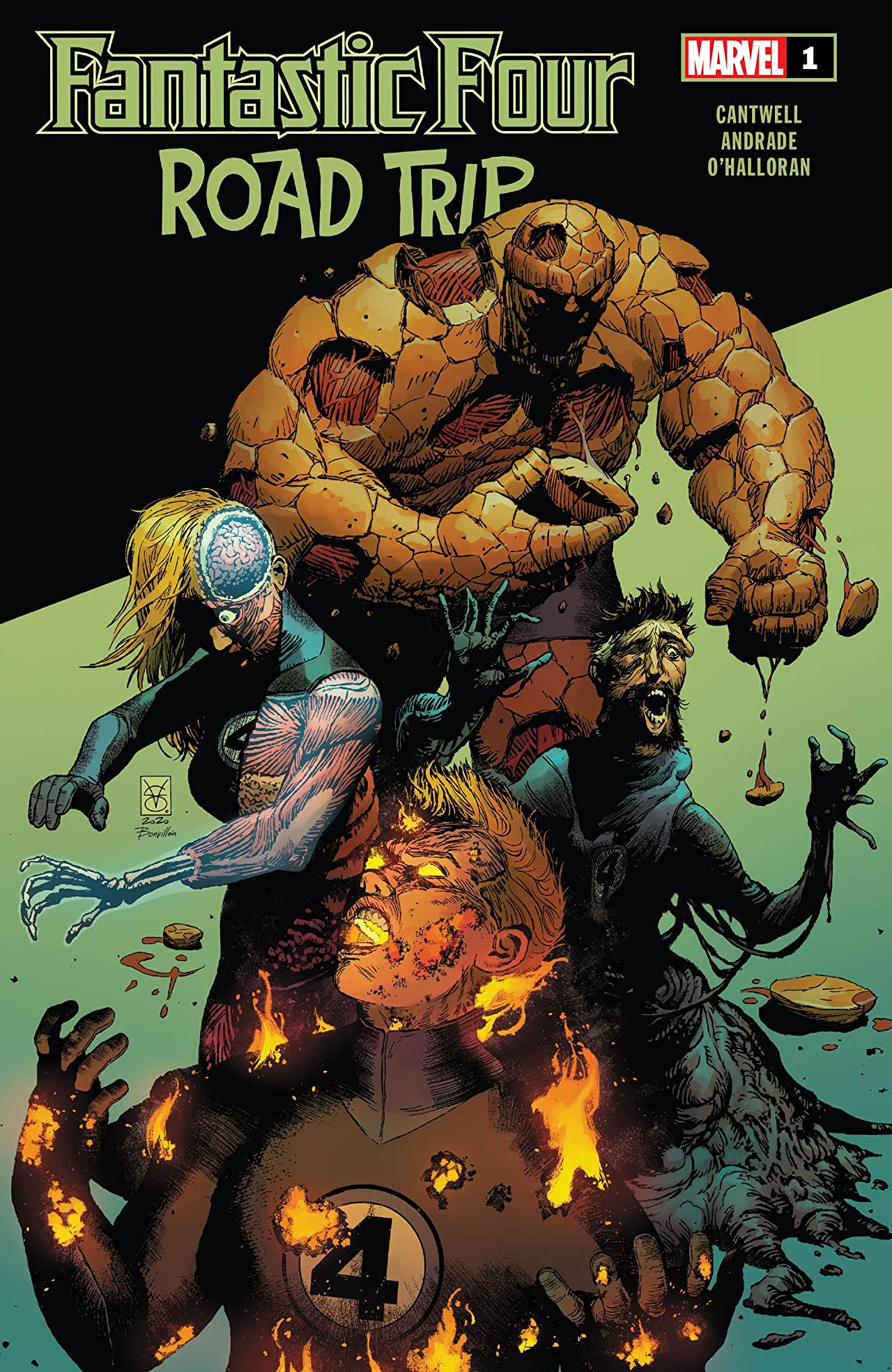 Fantastic Four: Road Trip Vol 1 1