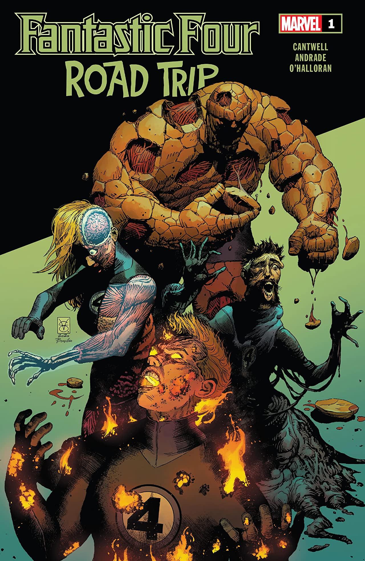 Fantastic Four: Road Trip Vol 1