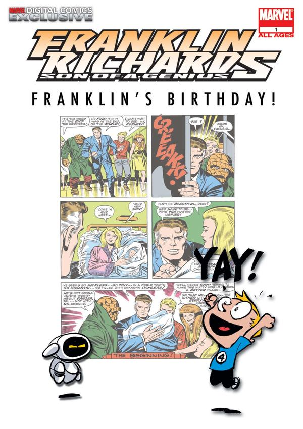 Franklin Richards: Franklin's Birthday! Vol 1 1