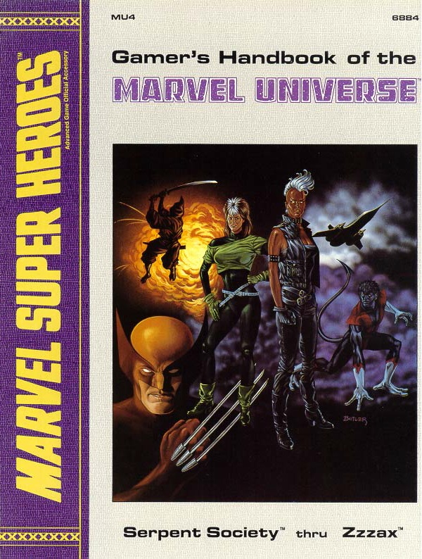 Gamer's Handbook of the Marvel Universe Vol 1 4