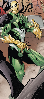 Hive (Poisons) (Earth-17952) Members-Poison Iron Fist from Venomverse Vol 1 2 001.png