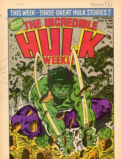 Hulk Comic (UK) Vol 1 58