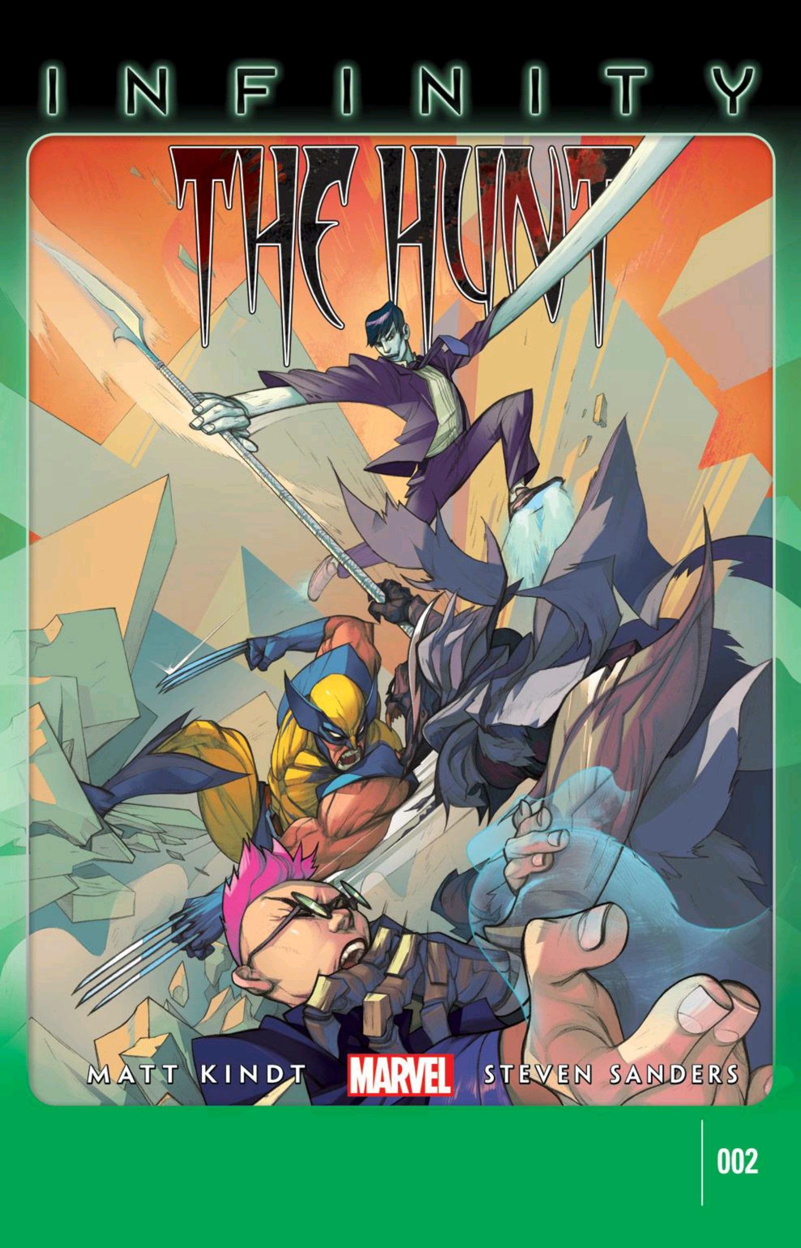 Infinity: The Hunt Vol 1 2