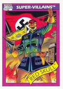 Johann Shmidt (Earth-616) from Marvel Universe Cards Series I 0001