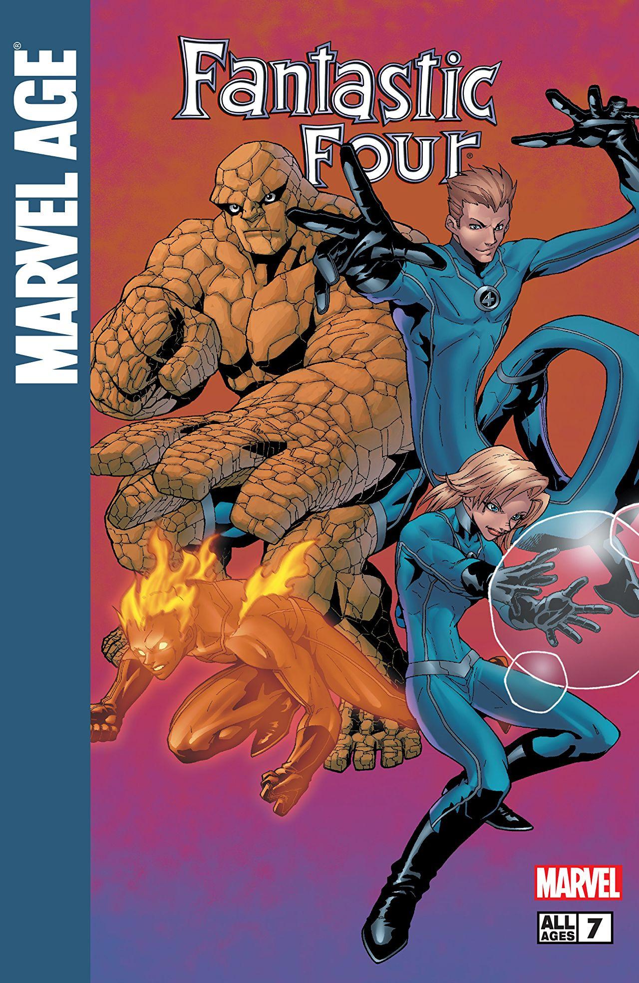 Marvel Age: Fantastic Four Vol 1 7
