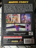 Marvel Comics DVD Back Cover