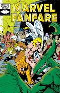 Marvel Fanfare Vol 1 4