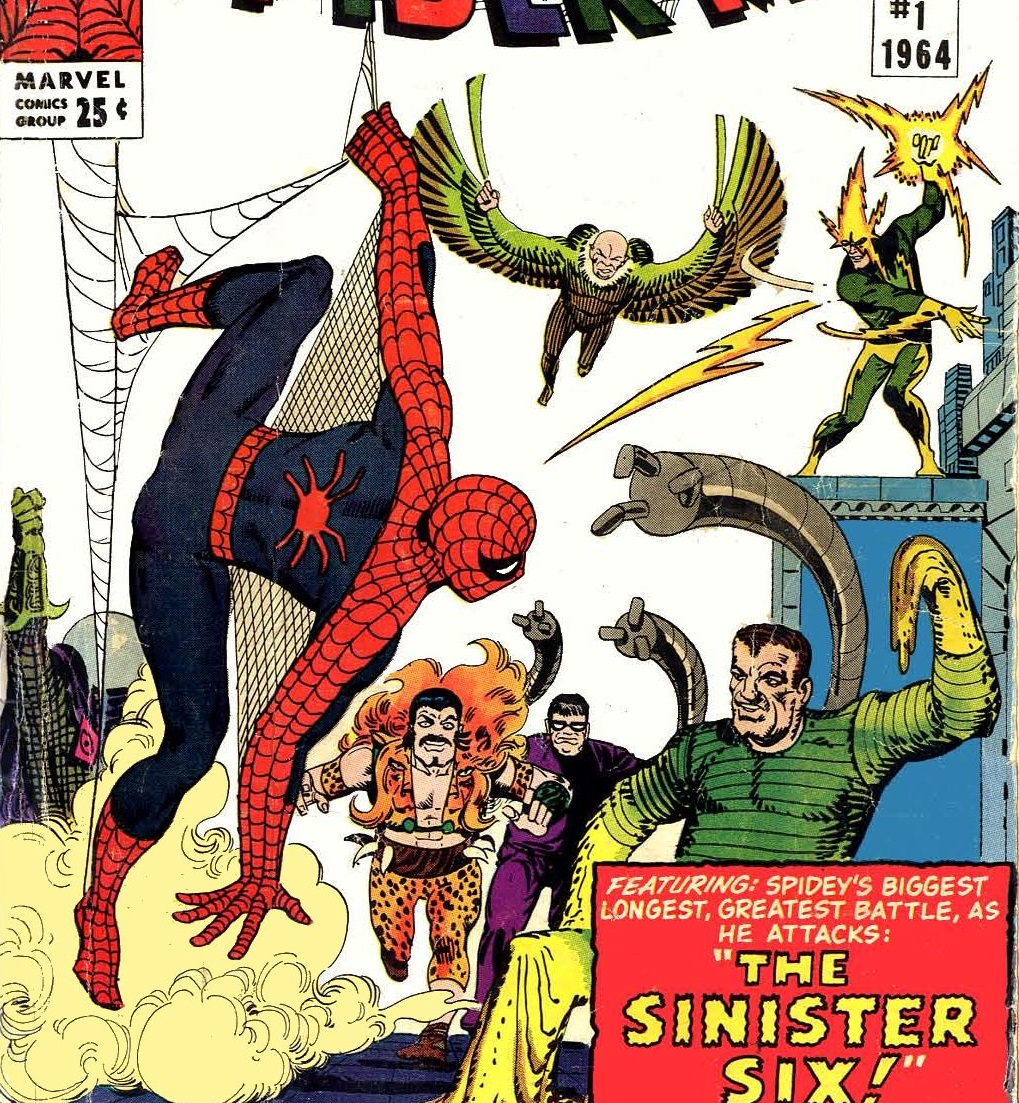 Peter Parker (Earth-616) versus the Sinister Six from Amazing Spider-Man Annual Vol 1 1.jpg