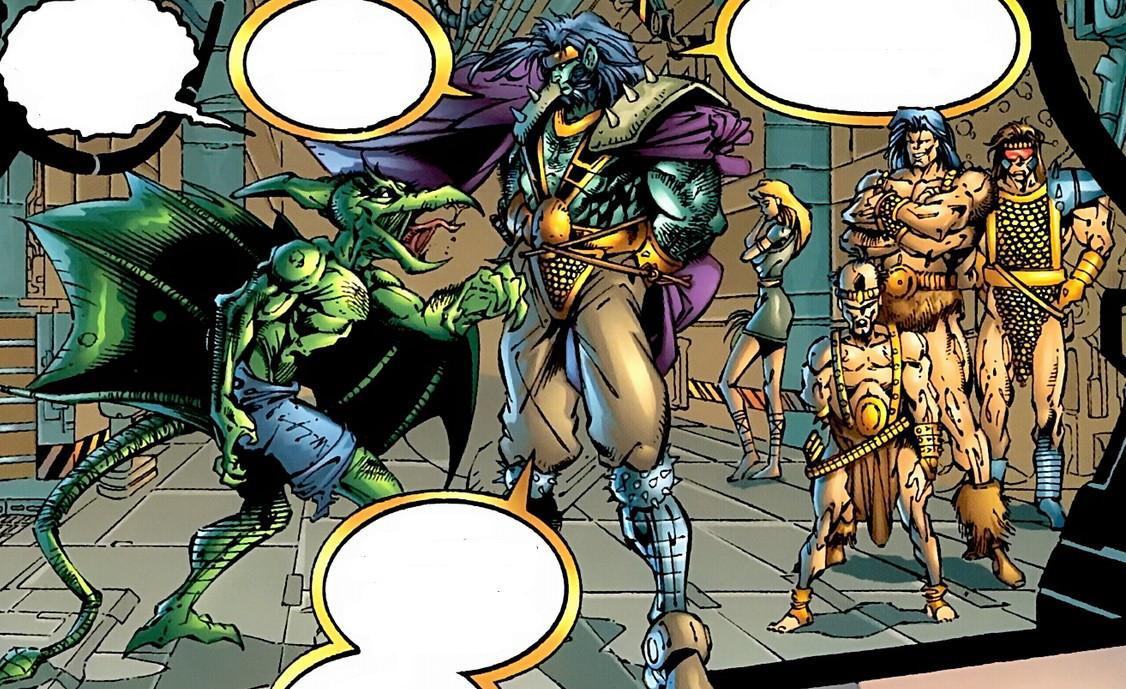 Savage Land Mutates (Earth-7642)