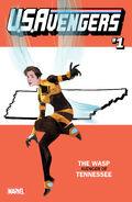 U.S.Avengers Vol 1 1 Tennessee Variant