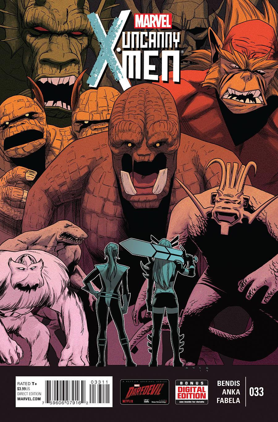 Uncanny X-Men Vol 3 33