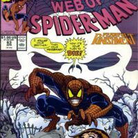 USA, 1990 Web of Spiderman # 64