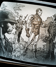 Anthony Stark (Earth-19529) and United States Army (Earth-19529) from Spider-Man Life Story Vol 1 1 001.png