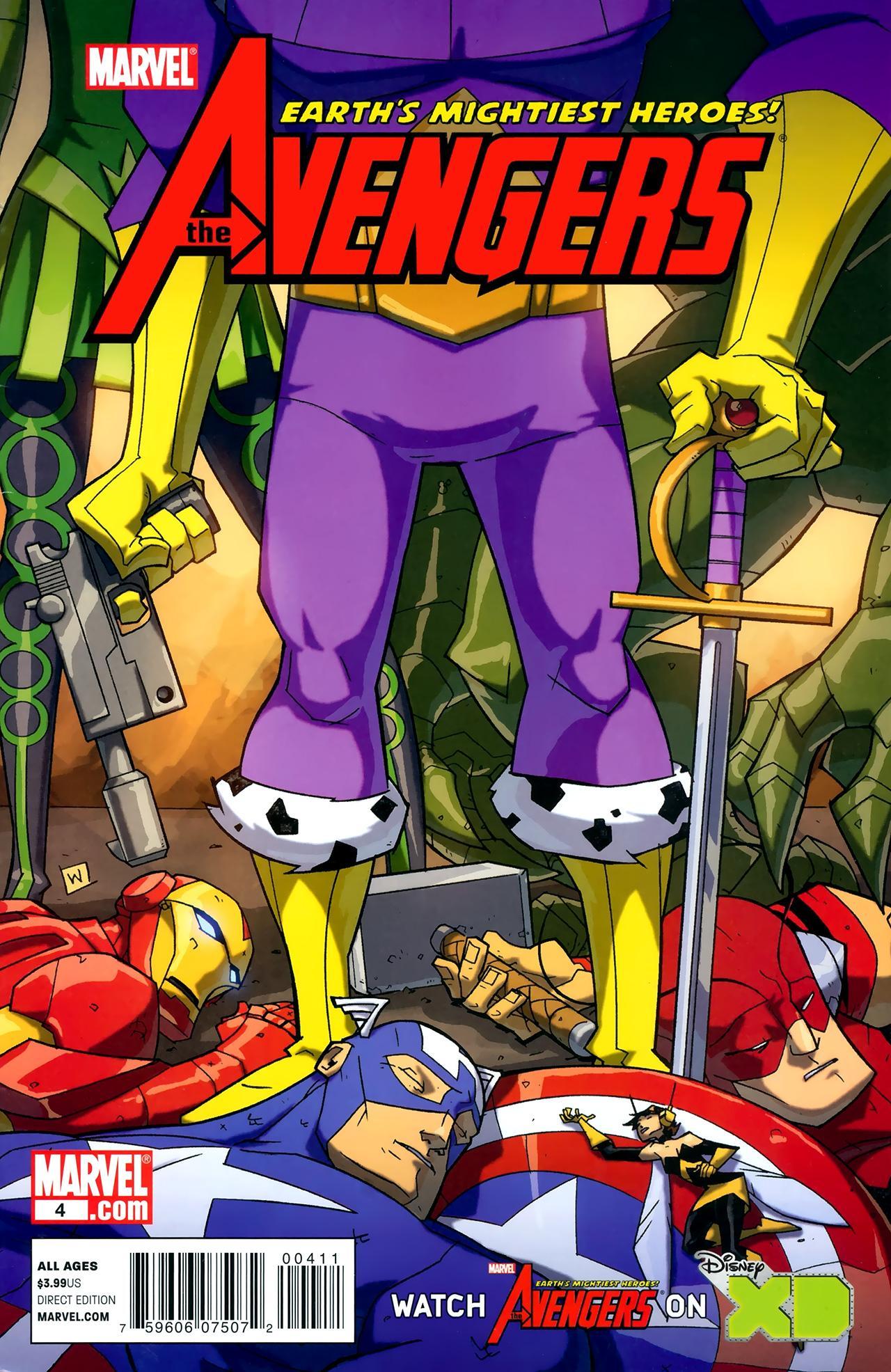 Avengers: Earth's Mightiest Heroes Vol 2 4