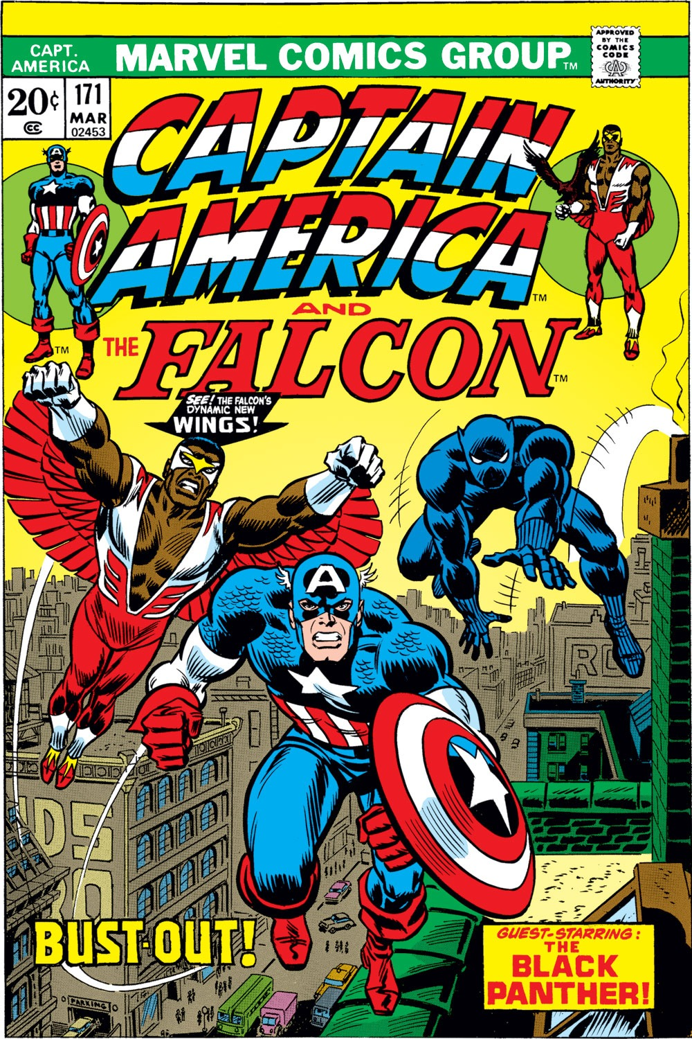 Captain America Vol 1 171