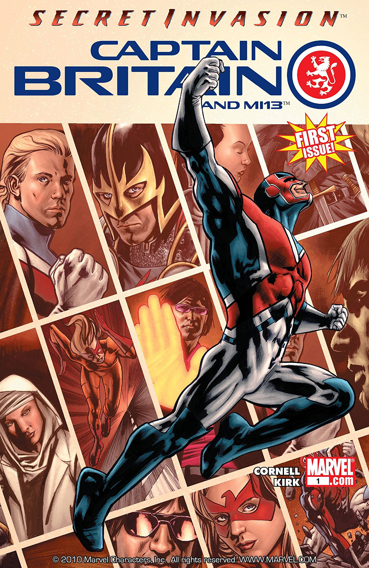 Captain Britain and MI-13 Vol 1