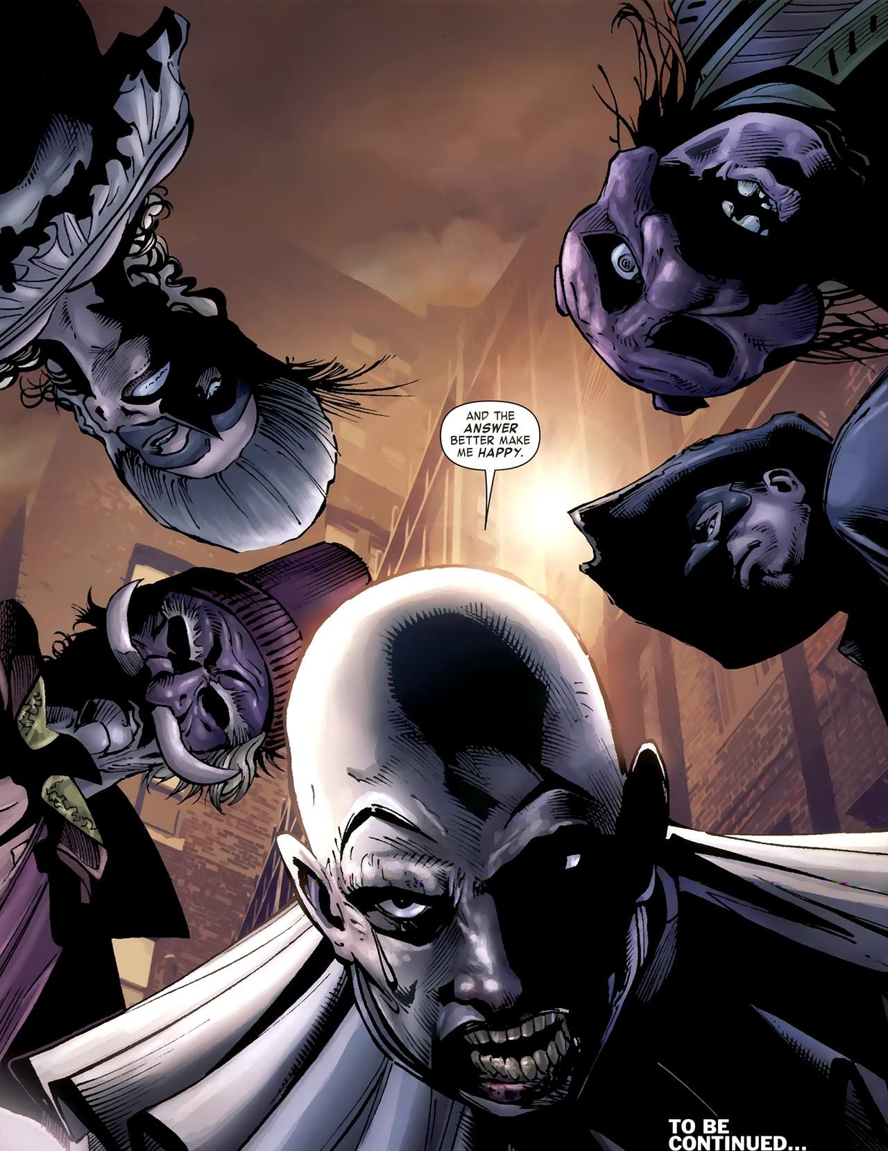 Commedia Dell'Morte (Earth-616)