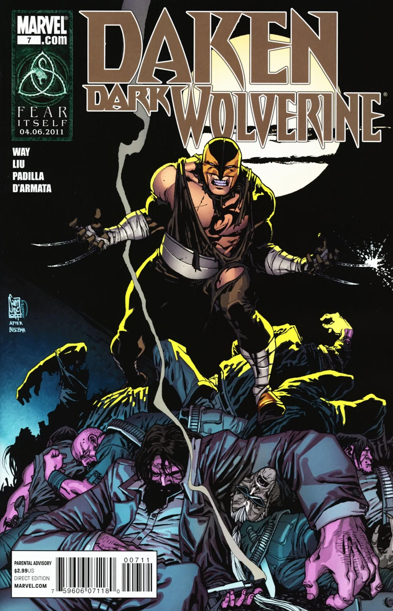 Daken: Dark Wolverine Vol 1 7