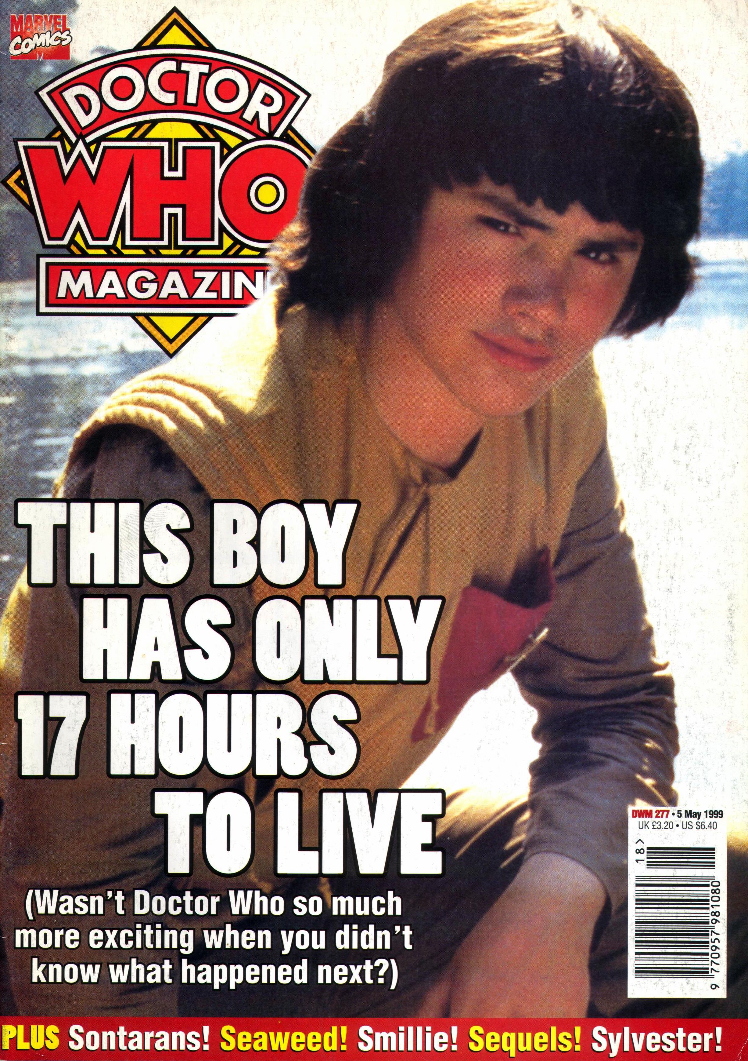 Doctor Who Magazine Vol 1 277