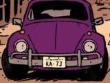 Hawkeye's Volkswagen Beetle