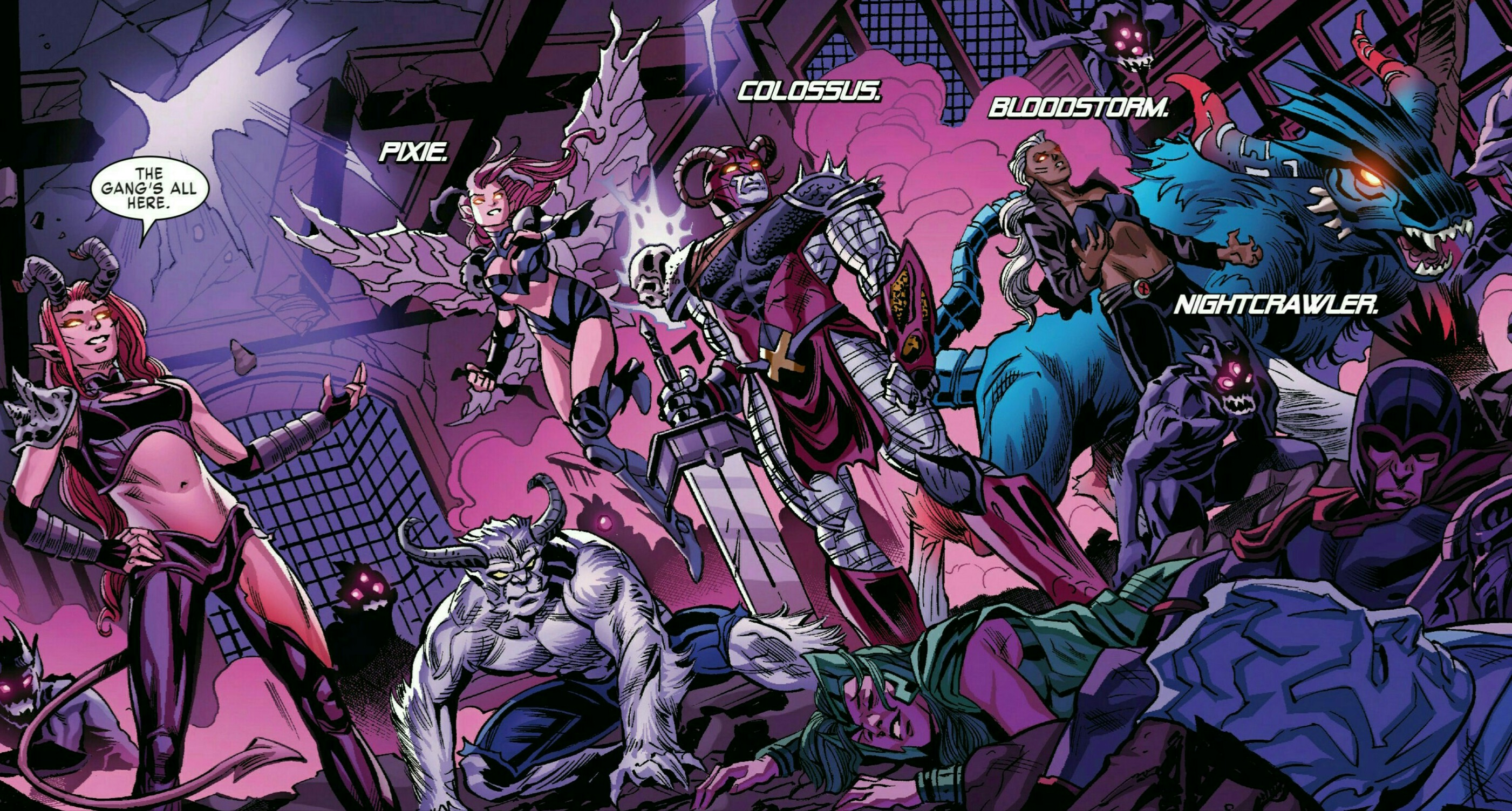 Hex-Men (Earth-616)/Gallery