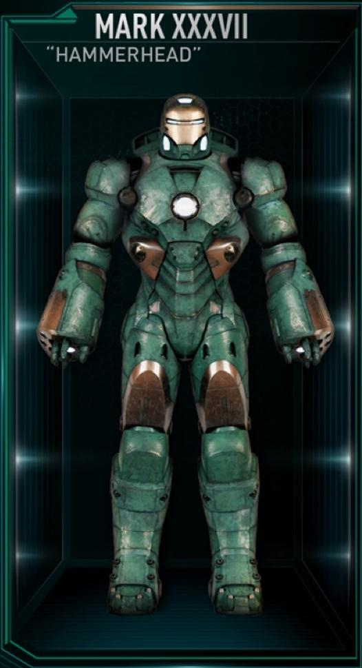 Iron Man Armor MK XXXVII (Earth-199999)