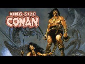KING-SIZE CONAN -1 Trailer - Marvel Comics