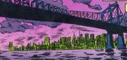 Manhattan Bridge from Spider-Man Power of Terror Vol 1 1 001