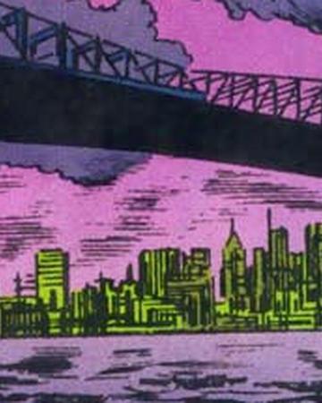 Manhattan Bridge from Spider-Man Power of Terror Vol 1 1 001.png