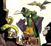 Pets of Evil Masters (Earth-97161)