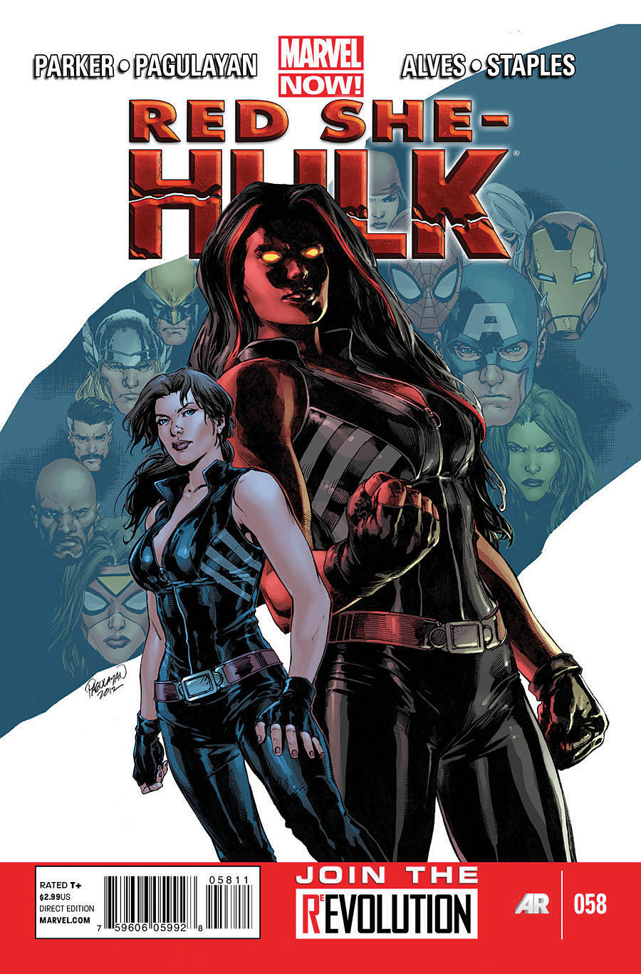 Red She-Hulk Vol 1 58