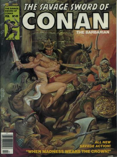 Savage Sword of Conan Vol 1 49
