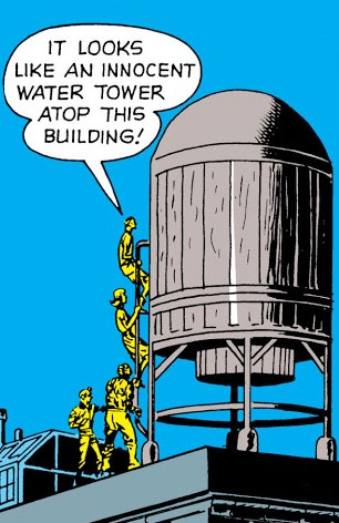 Skrull-Ship (Water Tower)