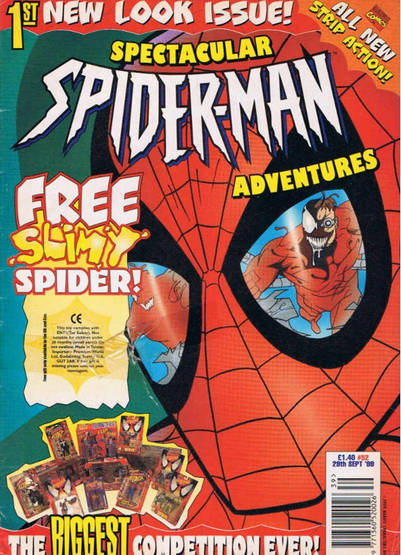 Spectacular Spider-Man (UK) Vol 1 52