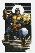 Thanos Legacy Vol 1 1 Pérez Virgin Variant