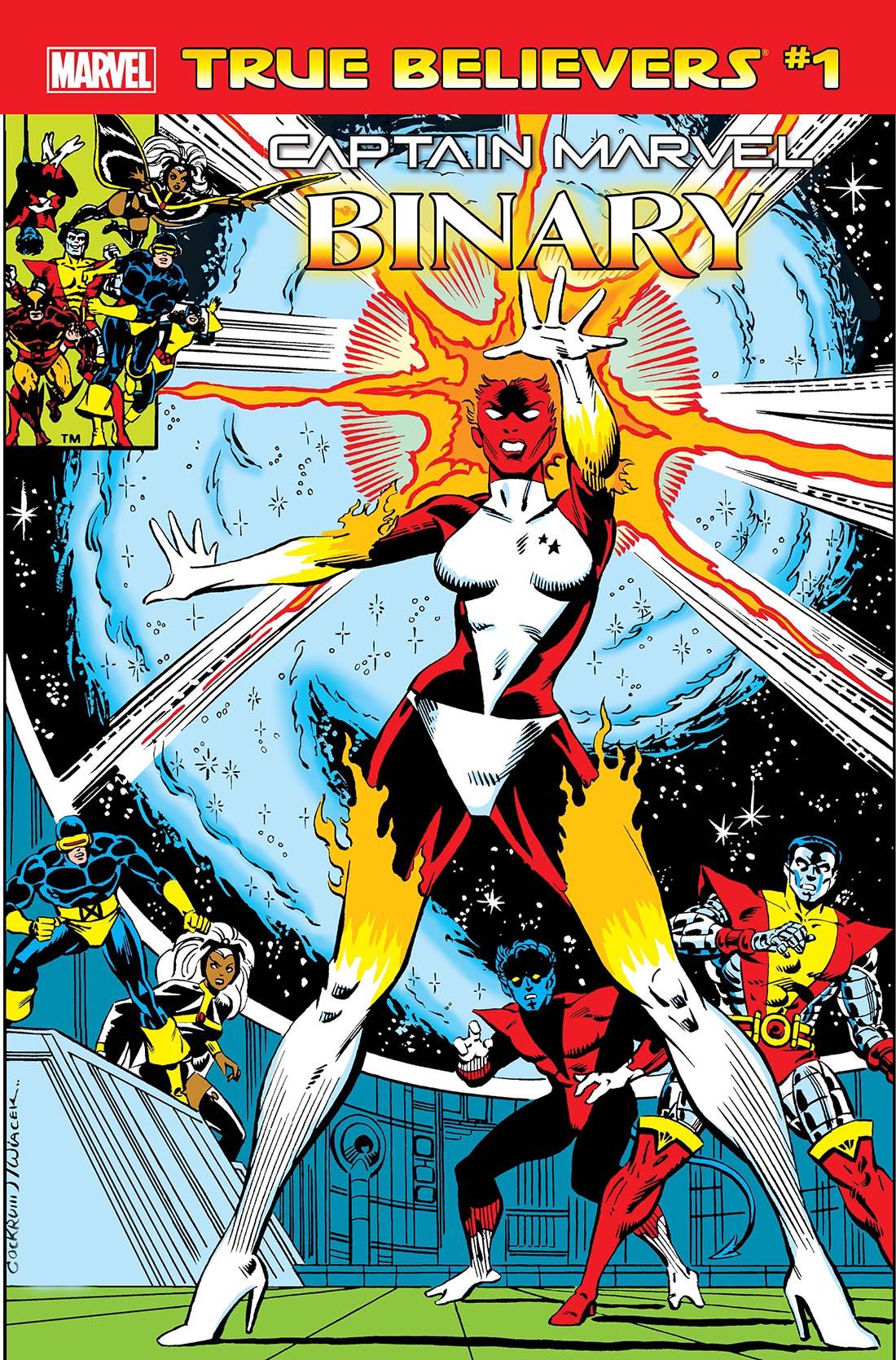 True Believers: Captain Marvel - Binary Vol 1 1