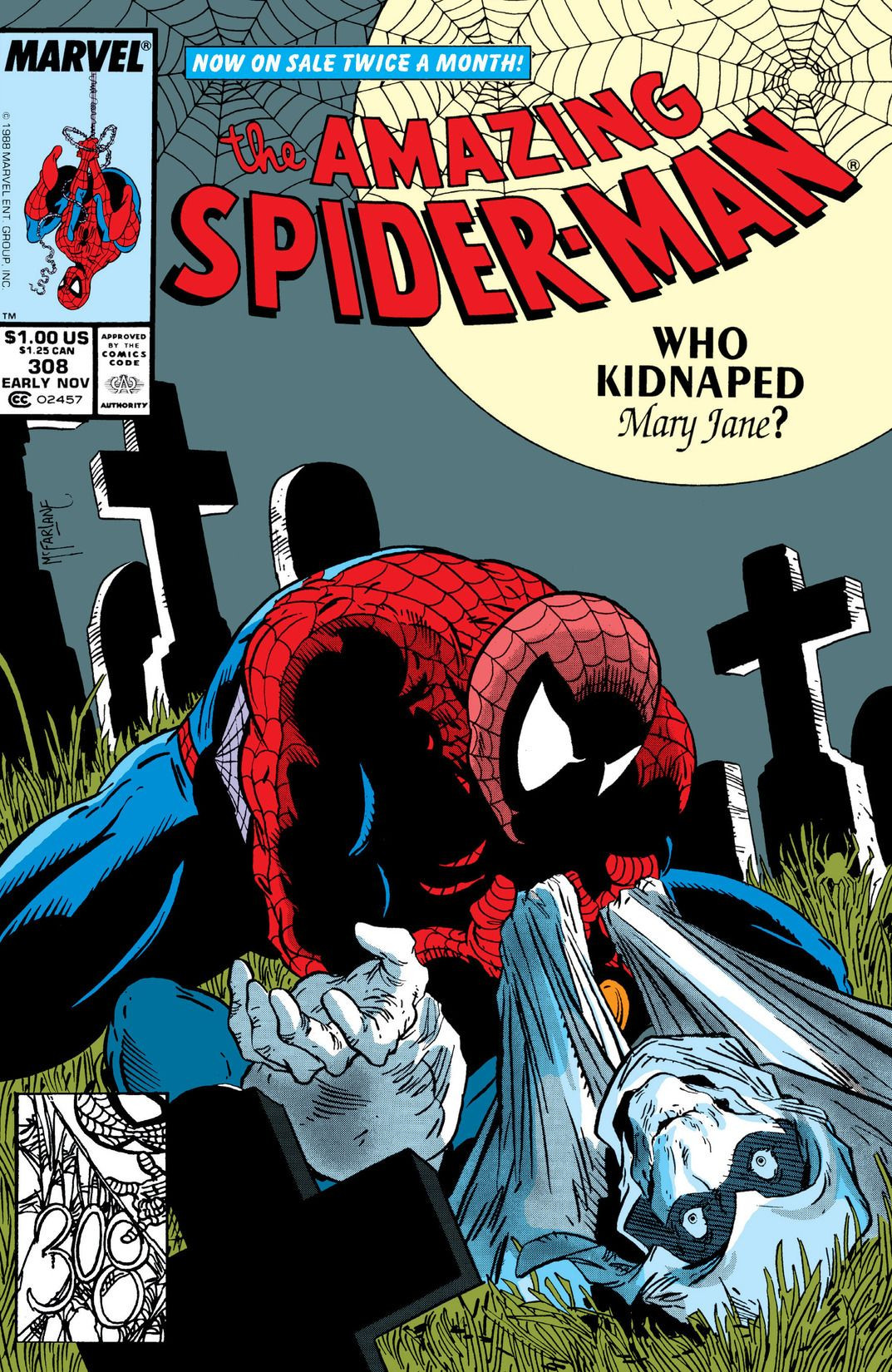 Amazing Spider-Man Vol 1 308