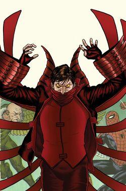 Amazing Spider-Man Vol 1 623 Villain Variant Textless.jpg