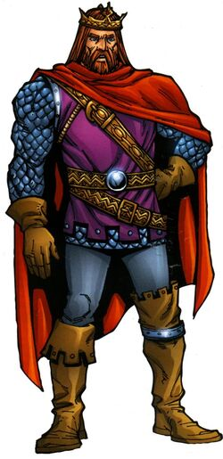 Arthur Pendragon (Earth-616) from Official Handbook of the Marvel Universe A-Z Update Vol 1 3 001.jpg