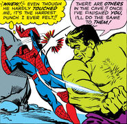Bruce Banner (Earth-616) and Peter Parker (Earth-616) from Amazing Spider-Man Vol 1 14 0001