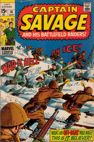 Capt. Savage and his Leatherneck Raiders Vol 1 16