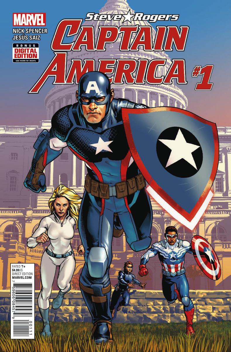 Captain America: Steve Rogers Vol 1 1