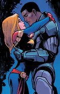 Carol Danvers (Earth-616) and James Rhodes (Earth-616) from Captain Marvel Vol 10 22 001